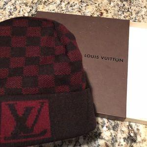 Louis Vuitton Accessories - Louis Vuitton Beanie Hat fe64ba6fbe1